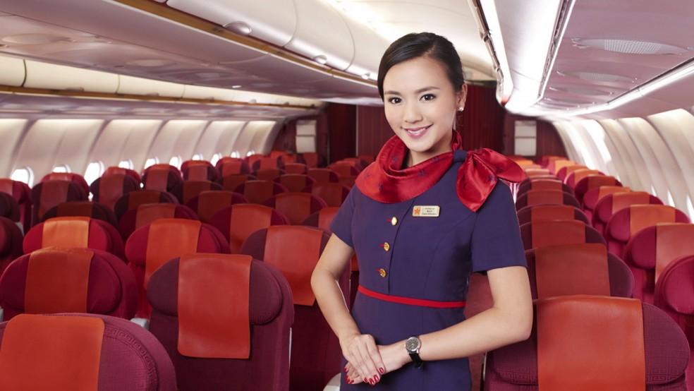 hong kong airlines 4 star airline rating skytrax. Black Bedroom Furniture Sets. Home Design Ideas